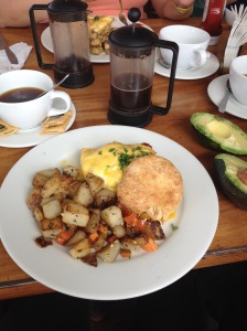 Breakfast at Bread and Chocolate